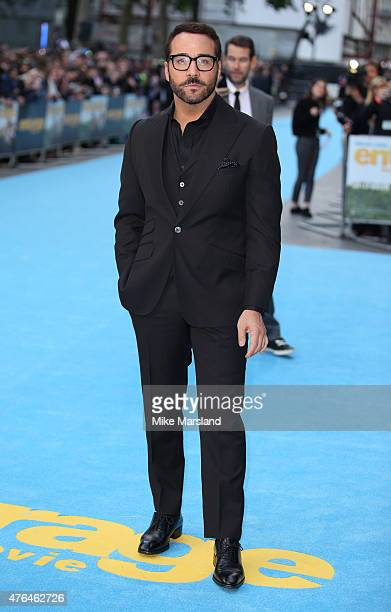 Jeremy Piven attends the European Premiere of 'Entourage' at Vue West End on June 9 2015 in London England