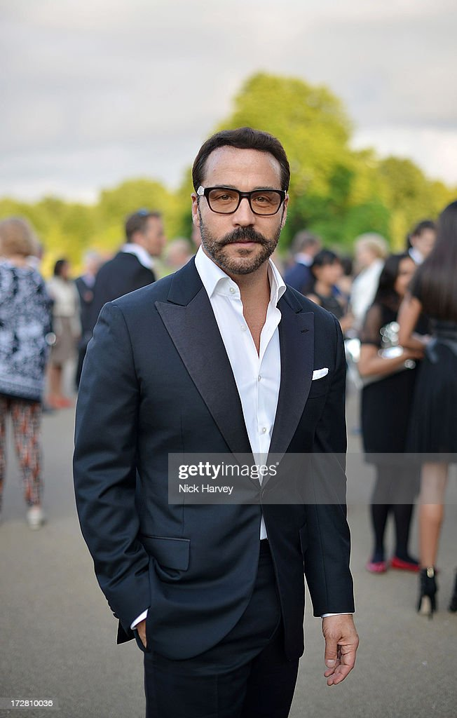 Jeremy Piven attends the launch party for the Fashion Rules exhibition, a collection of dresses worn by HRH Queen Elizabeth II, Princess Margaret and Diana, Princess of Wales at Kensington Palace on July 4, 2013 in London, England.