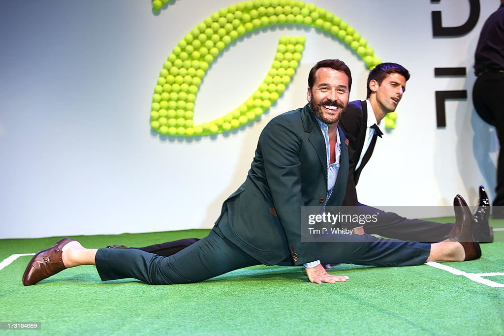 <a gi-track='captionPersonalityLinkClicked' href=/galleries/search?phrase=Jeremy+Piven&family=editorial&specificpeople=206338 ng-click='$event.stopPropagation()'>Jeremy Piven</a> attends the Novak Djokovic Foundation inaugural London gala dinner at The Roundhouse on July 8, 2013 in London, England. The foundation supports vulnerable and disadvantaged children, especially in Djokovic's native Serbia.