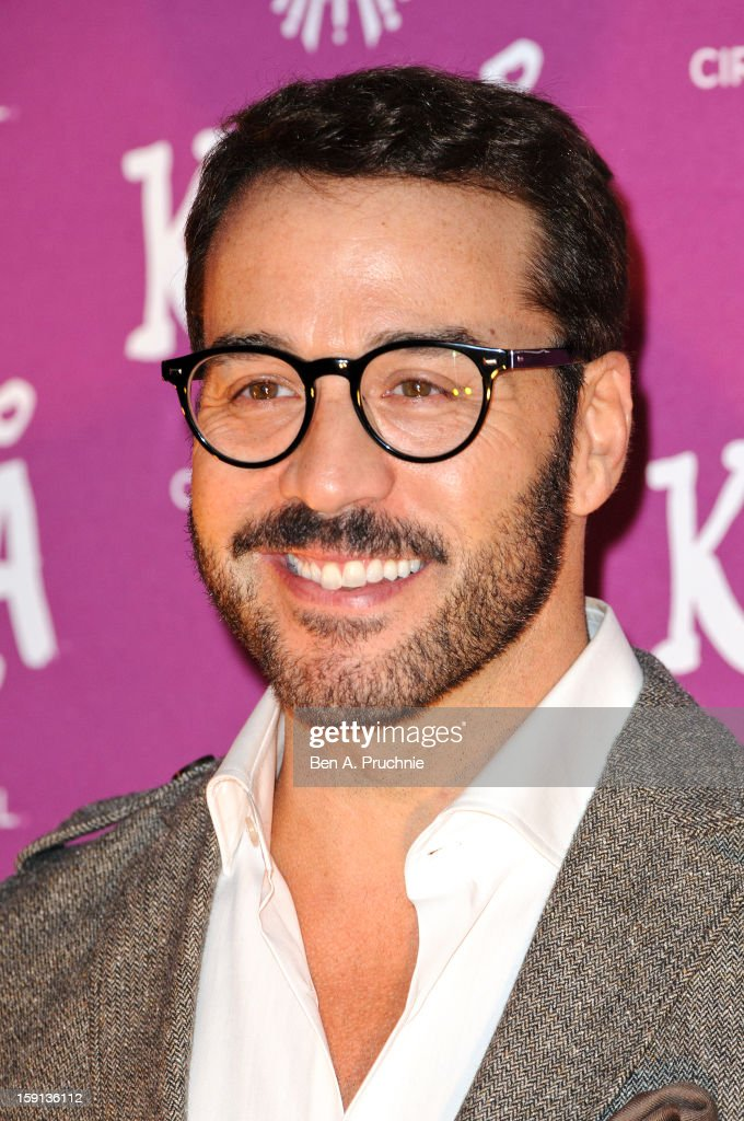 <a gi-track='captionPersonalityLinkClicked' href=/galleries/search?phrase=Jeremy+Piven&family=editorial&specificpeople=206338 ng-click='$event.stopPropagation()'>Jeremy Piven</a> attends the opening night of Cirque Du Soleil's Kooza at the Royal Albert Hall on January 8, 2013 in London, England.