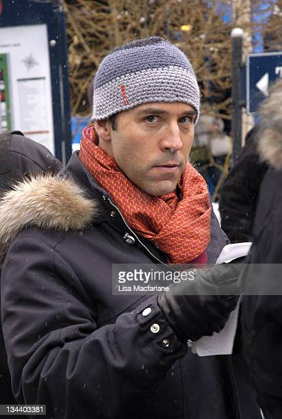 Jeremy Piven during 2005 Sundance Film Festival Taping of 'Entourage' January 27 2005 at Main Street in Park City Utah United States