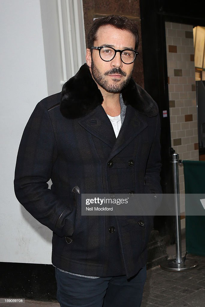 Jeremy Piven seen at Capital Radio on January 7, 2013 in London, England.