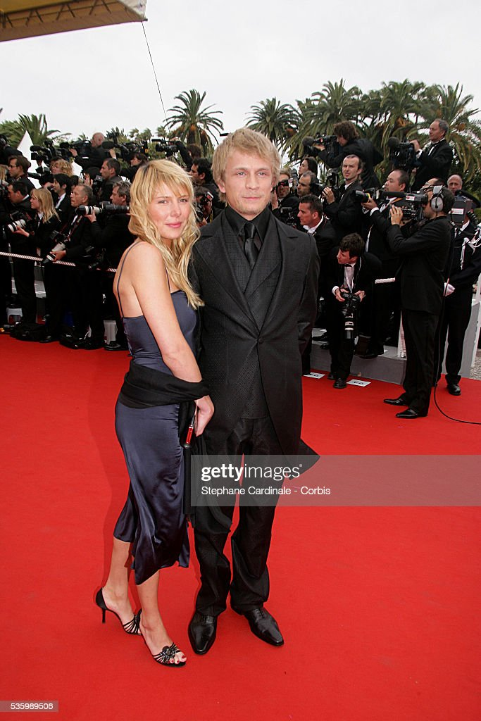 Jeremy Renier and his wife at the premiere of 'Babel' during the 59th Cannes Film Festival.