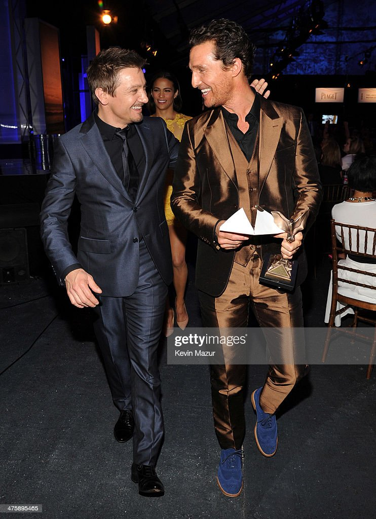 <a gi-track='captionPersonalityLinkClicked' href=/galleries/search?phrase=Jeremy+Renner&family=editorial&specificpeople=708701 ng-click='$event.stopPropagation()'>Jeremy Renner</a> and <a gi-track='captionPersonalityLinkClicked' href=/galleries/search?phrase=Matthew+McConaughey&family=editorial&specificpeople=201663 ng-click='$event.stopPropagation()'>Matthew McConaughey</a> attend the 2014 Film Independent Spirit Awards at Santa Monica Beach on March 1, 2014 in Santa Monica, California.