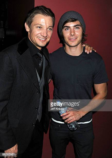 COVERAGE**Jeremy Renner and Zac Efron attend Summit Entertainment's 'The Hurt Locker' Reception at the Egyptian Theatre on June 5 2009 in Hollywood...