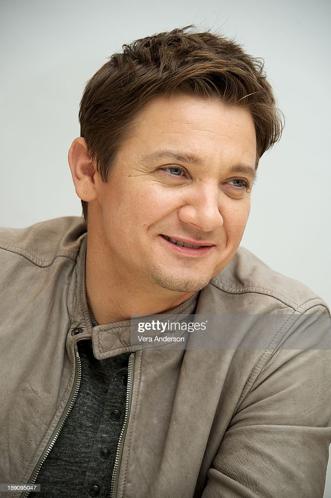 Jeremy Renner at the 'Hansel And Gretel Witch Hunters' Press Conference at the Four Seasons Hotel on January 5, 2013 in Beverly Hills, California.