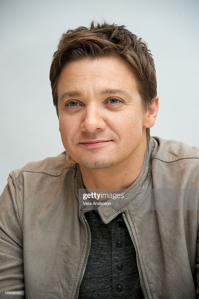 <a gi-track='captionPersonalityLinkClicked' href=/galleries/search?phrase=Jeremy+Renner&family=editorial&specificpeople=708701 ng-click='$event.stopPropagation()'>Jeremy Renner</a> at the 'Hansel And Gretel Witch Hunters' Press Conference at the Four Seasons Hotel on January 5, 2013 in Beverly Hills, California.