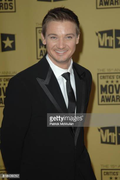 Jeremy Renner attends 2010 Critics Choice Awards at The Palladium on January 15 2010 in Hollywood California