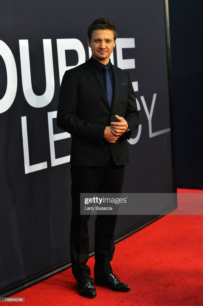 <a gi-track='captionPersonalityLinkClicked' href=/galleries/search?phrase=Jeremy+Renner&family=editorial&specificpeople=708701 ng-click='$event.stopPropagation()'>Jeremy Renner</a> attends 'The Bourne Legacy' New York Premiere at Ziegfeld Theater on July 30, 2012 in New York City.