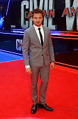 Jeremy Renner attends the European Premiere of 'Captain America Civil War' at Vue Westfield on April 26 2016 in London England