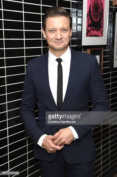 Jeremy Renner attends the Weinstein Company 'Wind River' After Party at The Skylark on August 2 2017 in New York City
