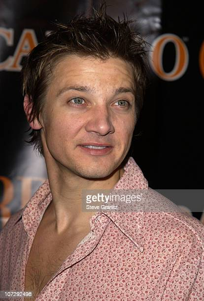 Jeremy Renner during Premiere's The New Power Event Celebrates Hollywood Power Players Under The Age Of 35 at Ivar in Hollywood California United...