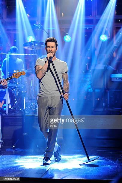 LIVE 'Jeremy Renner' Episode 1628 Pictured Maroon 5