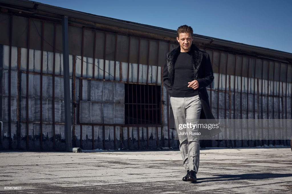 Jeremy Renner is photographed for Nobelman Magazine on June 14, 2017 in Los Angeles, California.