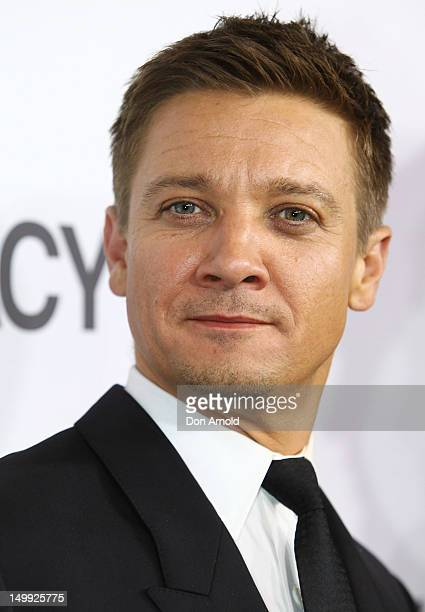 Jeremy Renner walks the red carpet at the Sydney Premiere of The Bourne Legacy on August 7 2012 in Sydney Australia