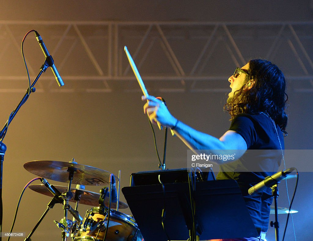 Jeremy Salken of Big Gigantic performs during the superjam during the 2014 Bonnaroo Music & Arts Festival on June 14, 2014 in Manchester, Tennessee.