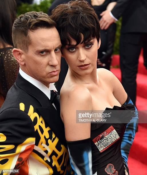 Jeremy Scott and Katy Perry arrive at the 2015 Metropolitan Museum of Art's Costume Institute Gala benefit in honor of the museums latest exhibit...