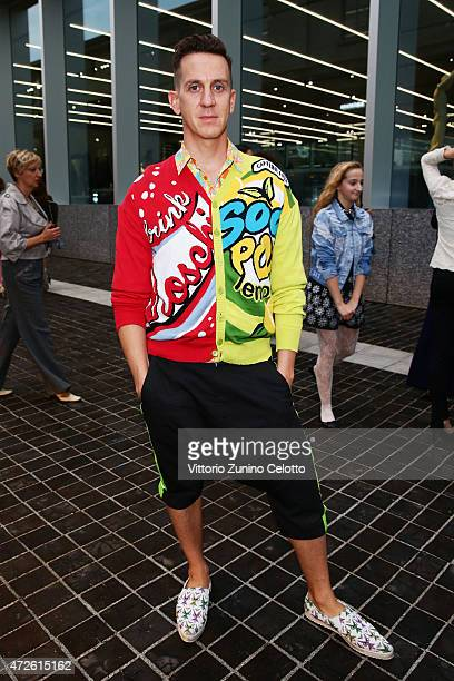 Jeremy Scott attends the Fondazione Prada Opening on May 8 2015 in Milan Italy
