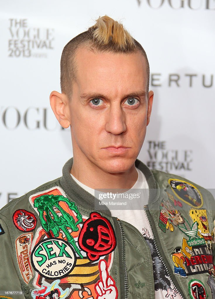 <a gi-track='captionPersonalityLinkClicked' href=/galleries/search?phrase=Jeremy+Scott+-+Estilista&family=editorial&specificpeople=8682070 ng-click='$event.stopPropagation()'>Jeremy Scott</a> attends the opening party for The Vogue Festival in association with Vertu at Southbank Centre on April 27, 2013 in London, England.