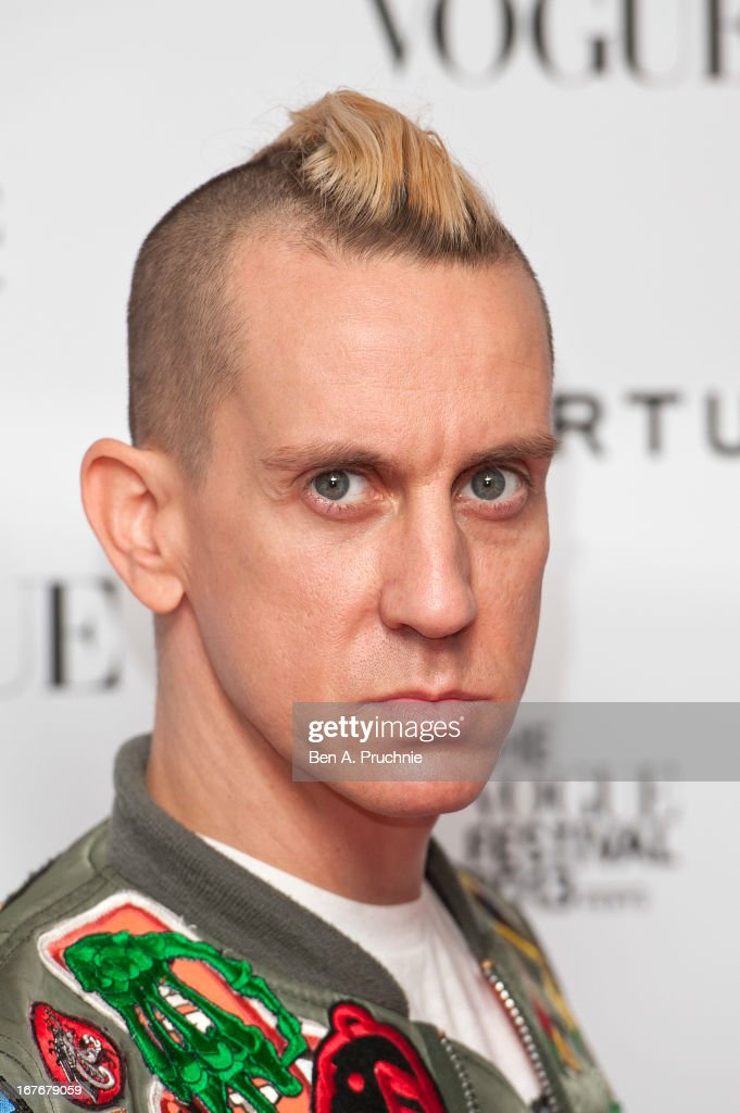 <a gi-track='captionPersonalityLinkClicked' href=/galleries/search?phrase=Jeremy+Scott+-+Modedesigner&family=editorial&specificpeople=8682070 ng-click='$event.stopPropagation()'>Jeremy Scott</a> attends the opening party for The Vogue Festival in association with Vertu at Southbank Centre on April 27, 2013 in London, England.
