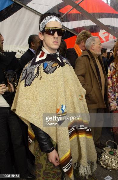 Jeremy Scott during Mercedes Benz...