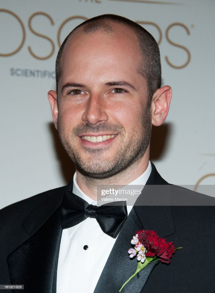 Jeremy Selan arrives at the Academy Of Motion Picture Arts And Sciences' Scientific & Technical Awards at Beverly Hills Hotel on February 9, 2013 in Beverly Hills, California.