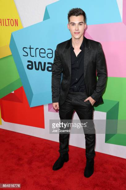 Jeremy Shada at the 2017 Streamy Awards at The Beverly Hilton Hotel on September 26 2017 in Beverly Hills California