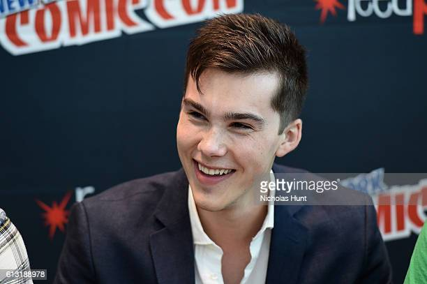 Jeremy Shada attends the Voltron Legendary Defender signing at Jacob Javits Center on October 7 2016 in New York City
