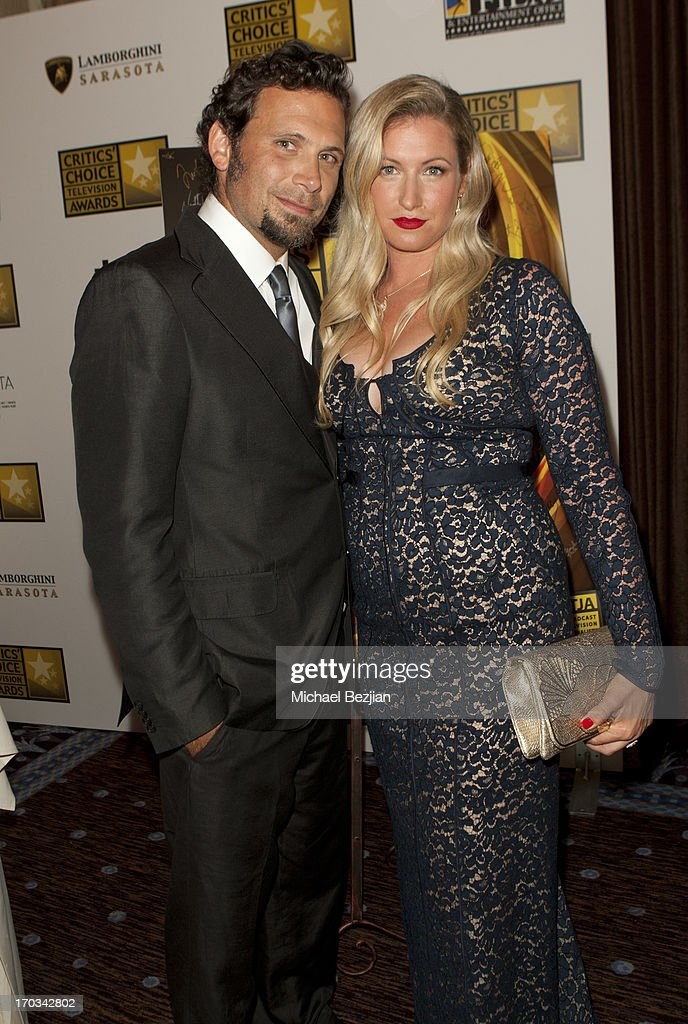 Jeremy Sisto and Addie Lane attend Critics' Choice Television Awards VIP Lounge on June 10, 2013 in Los Angeles, California.