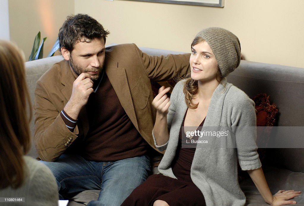 Jeremy Sisto and Keri Russell during 2007 Park City Hollywood Life House Day 5 at Hollywood Life House in Park City Utah United States