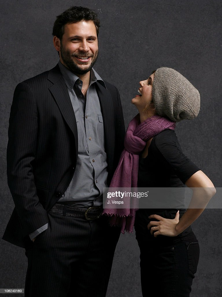 Jeremy Sisto and Keri Russell during 2007 Sundance Film Festival 'Waitress' Portraits at Delta Sky Lodge in Park City Utah United States