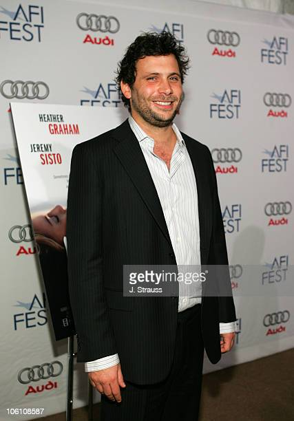 Jeremy Sisto during AFI Fest 2006 Presented by Audi Presents 'Broken' Arrivals at Arclight in Hollywood California United States
