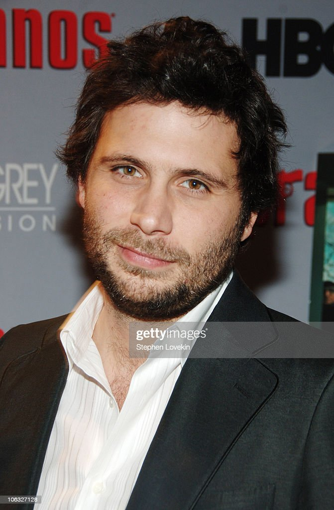 Jeremy Sisto during 'The Sopranos' Sixth Season Premiere Inside Arrivals at MoMA in New York City New York United States