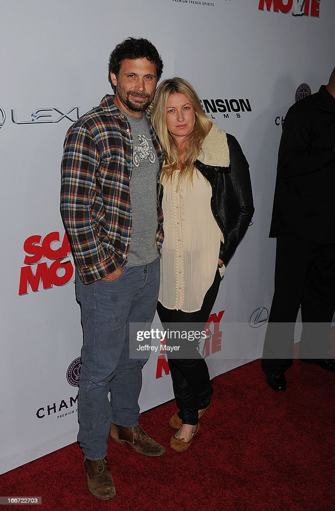 Jeremy Sisto;Addie Lane arrive at the 'Scary Movie V' - Los Angeles Premiere at ArcLight Cinemas Cinerama Dome on April 11, 2013 in Hollywood, California.