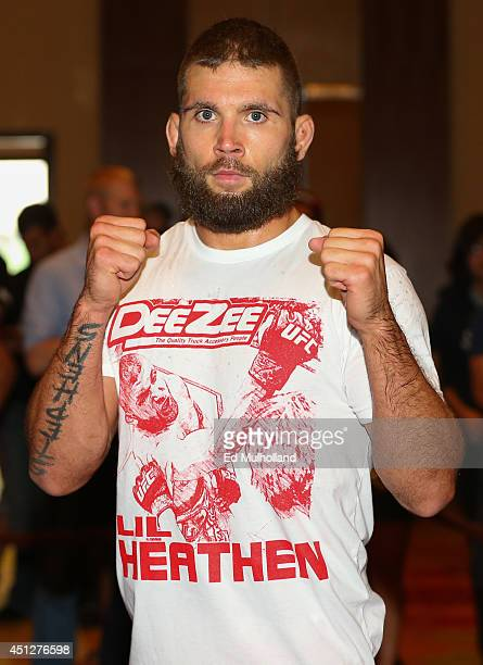 Jeremy Stephens holds an open training session at the Grand Hyatt San Antonio on June 26 2014 in San Antonio Texas