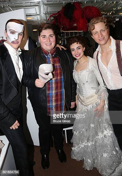 Jeremy Stolle as 'the Phantom' The 2015 winner of NBC's 'The Voice' Jordan Smith as 'The Phantom' Julia Udine as 'Christine' and Jeremy Hays as...