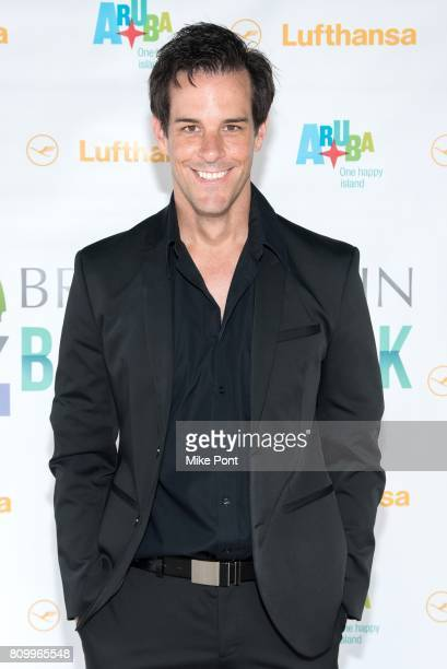Jeremy Stolle from Broadway's 'Phantom of the Opera' attends 1067 Lite FM's Broadway In Bryant Park 2017 at Bryant Park on July 6 2017 in New York...