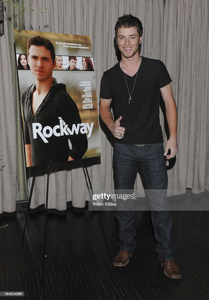 <a gi-track='captionPersonalityLinkClicked' href=/galleries/search?phrase=Jeremy+Sumpter&family=editorial&specificpeople=211524 ng-click='$event.stopPropagation()'>Jeremy Sumpter</a> attends Rock Way Fundraiser at Beso on March 23, 2013 in Hollywood, California.