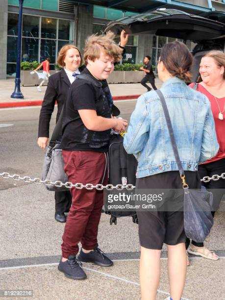 Jeremy Taylor is seen on July 19 2017 in San Diego California