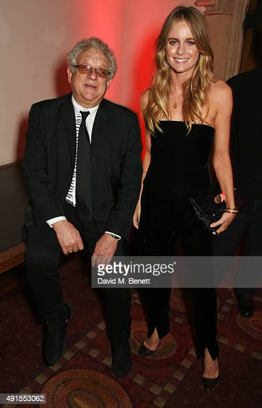Jeremy Thomas and Cressida Bonas attend a cocktail reception at the BFI Luminous Fundraising Gala in partnership with IWC and crystals by Swarovski...