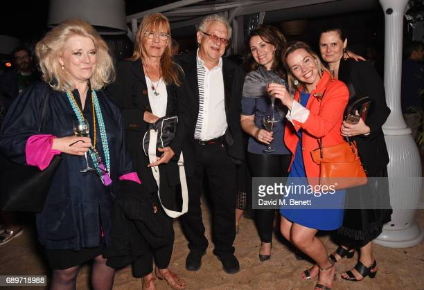 Jeremy Thomas and guests attend the official after party for 'The Killing of a Sacred Deer' at the Nikki Beach popup during the 70th annual Cannes...