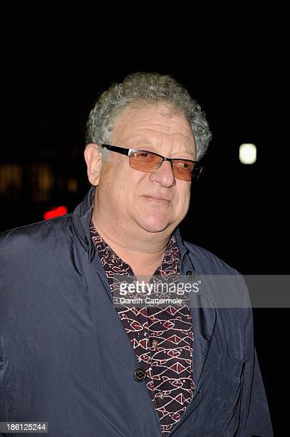 Jeremy Thomas attends the UK Premiere of 'Dom Hemingway' at The Curzon Mayfair on October 28 2013 in London England