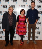 Jeremy Thomas BFI London Film Festival director Clare Stewart and Pal Sverre Hagen attends a screening of 'KonTiki' during the 57th BFI London Film...