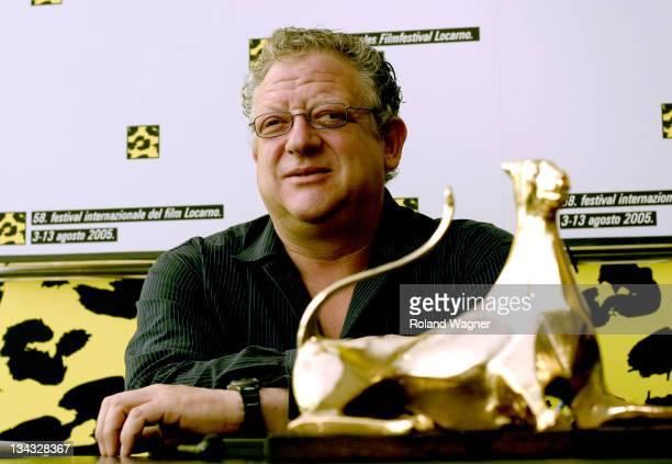 Jeremy Thomas during Filmfestival Locarno 2005 Jeremy Thomas Press Conference for Receiving the Raimondo Rezzonico Award at Press Centre in Locarno...