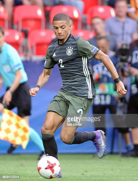 Jeremy Toljan during the UEFA European Under21 match between England and Germany at Arena Tychy on June 27 2017 in Tychy Poland