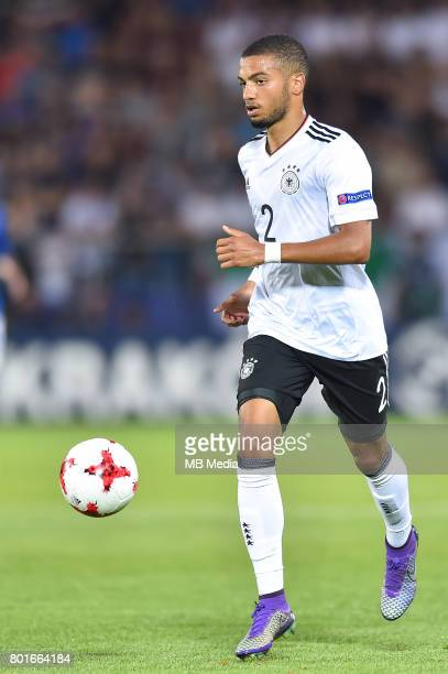 Jeremy Toljan during the UEFA European Under21 match between Italy and Germany on June 24 2017 in Krakow Poland