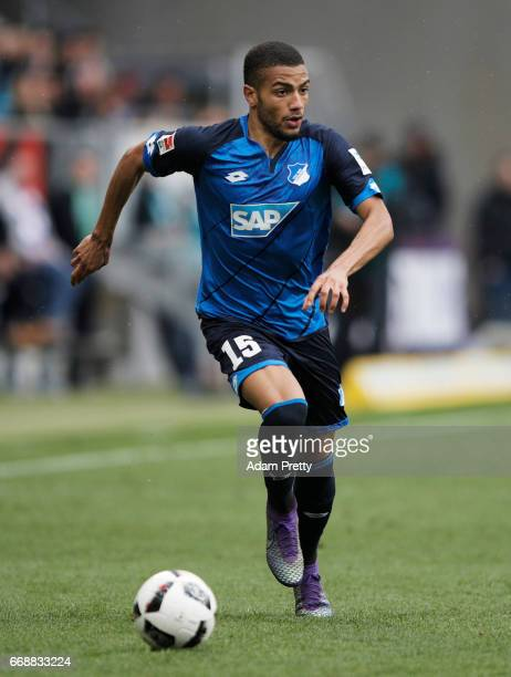 Jeremy Toljan of 1899 Hoffenheim in action during the Bundesliga match between TSG 1899 Hoffenheim and Borussia Moenchengladbach at Wirsol...