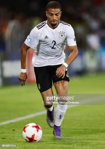Jeremy Toljan of Germany during the UEFA U21 Final match between Germany and Spain at Krakow Stadium on June 30 2017 in Krakow Poland