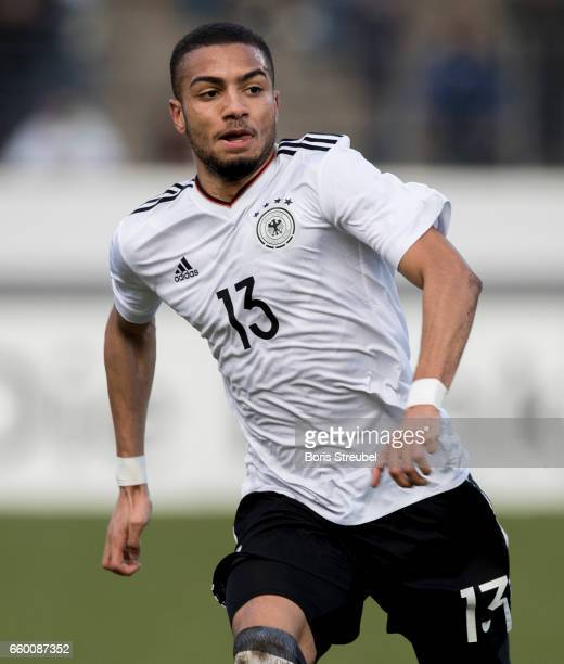 Jeremy Toljan of Germany runs during the International Friendly match between Germany U21 and Portugal U21 at GaziStadion on March 28 2017 in...