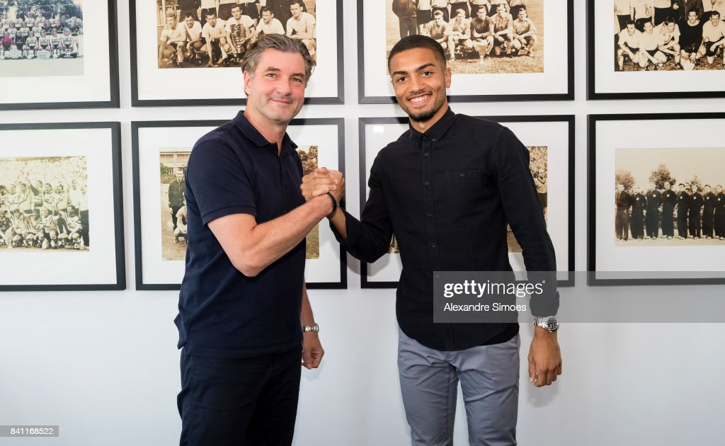 Borussia Dortmund Unveils New Signing Jeremy Toljan